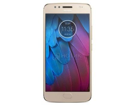 Смартфон Motorola Moto G5S 32Gb Gold (Android 7.1 (Nougat)/MSM8937 1400MHz/5.2* 1920x1080/3072Mb/32Gb/4G LTE ) [PA7W0022RU], арт: 53813 - Motorola