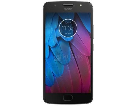 Смартфон Motorola Moto G5S 32Gb Gray (Android 7.1 (Nougat)/MSM8937 1400MHz/5.2* 1920x1080/3072Mb/32Gb/4G LTE ) [PA7W0006RU], арт: 53814 - Motorola