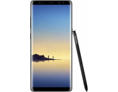 Смартфон Samsung Galaxy Note 8 64Gb SM-N950FZ Midnight Black (Android 7.1 (Nougat)/Exynos 8895 2300MHz/6.3