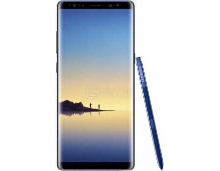 Смартфон Samsung Galaxy Note 8 64Gb SM-N950FZ Deep Sea Blue (Android 7.1 (Nougat)/Exynos 8895 2300MHz/6.3
