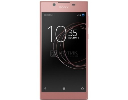 Смартфон Sony Xperia L1 Dual Pink (Android 7.0 (Nougat)/MT6737T 1450MHz/5.5