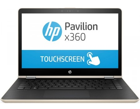 Ноутбук HP Pavilion x360 14-ba017ur (14.0 IPS (LED)/ Core i3 7100U 2400MHz/ 6144Mb/ Hybrid Drive 500Gb/ NVIDIA GeForce GT 940MX 2048Mb) MS Windows 10 Home (64-bit) [1ZC86EA]