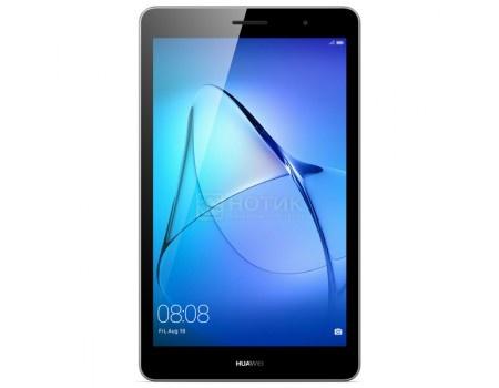 "Фотография товара планшет Huawei MediaPad T3 8 LTE (Android 7.0 (Nougat)/MSM8917 1400MHz/8.0"" 1280x800/2048Mb/16Gb/4G LTE ) [KOB-L09 GREY] (53926)"