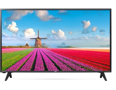 Телевизор LG 32 32LJ500V, LED, Full HD, PMI 200, Черный