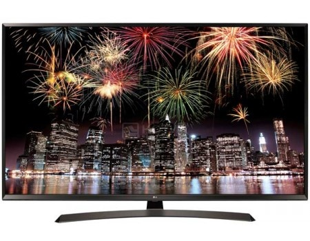 Телевизор LG 55 55UJ634V IPS, UHD, Smart TV (webOS 3.5), PMI 1600, Черный/Коричневый