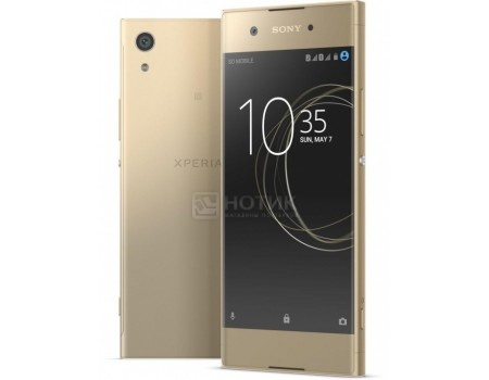 Смартфон Sony Xperia XA1 Ultra Dual Gold (Android 7.0 (Nougat)/MT6757 2300MHz/6.0