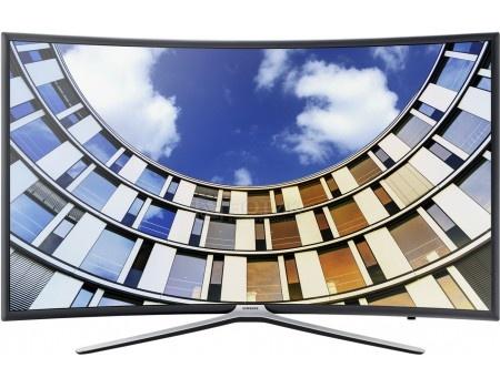 Телевизор Samsung 55 UE55M6500AU LED, Full HD, Smart TV, CMR 900, Изогнутый экран, Темно-серый(Титан) телевизор samsung 48 ue48j5200au led full hd smart tv cmr 100 черный