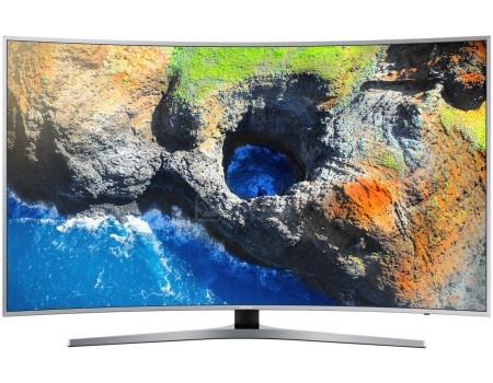 Телевизор Samsung 65 UE65MU6500U LED, UHD, Smart TV, CMR 1600, Изогнутый экран, Серебристый телевизор philips 49pus6501 60 uhd smarttv android tv серебристый