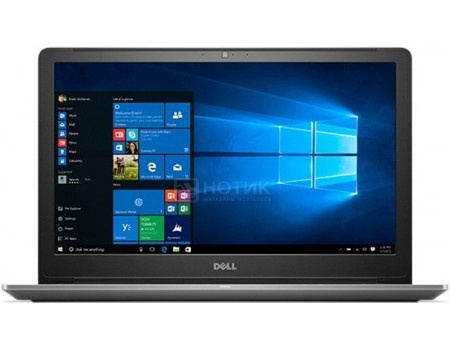 Ноутбук Dell Vostro 5568 (15.6 TN (LED)/ Core i3 6006U 2000MHz/ 4096Mb/ HDD 500Gb/ Intel HD Graphics 520 64Mb) MS Windows 10 Home (64-bit) [5568-1113]