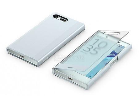 Чехол-накладка Sony Touch Cover SCTF20 для X Compact, Силикон, Голубой SCTF20 Blue 1304-4701