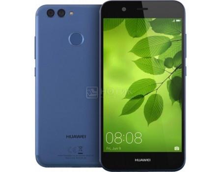 Смартфон Huawei Nova 2 Plus 64Gb Blue (Android 7.0 (Nougat)/Kirin 659 2360MHz/5.5