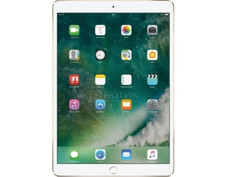 Планшет Apple iPad Pro 10.5 256Gb Wi-Fi Gold (iOS 10/A10X 2360MHz/10.5* 2224x1668/4096Mb/256Gb/ ) [MPF12RU/A], арт: 54073 - Apple