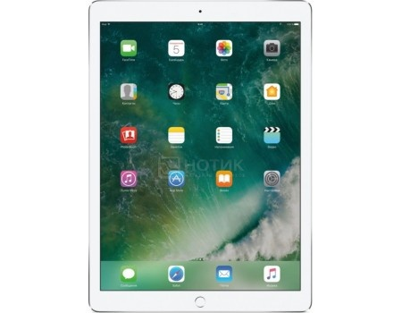 Планшет Apple iPad Pro 12.9 2017 512Gb Wi-Fi Silver (iOS 10/A10X 2360MHz/12.9* 2732x2048/4096Mb/512Gb/ ) [MPL02RU/A], арт: 54083 - Apple