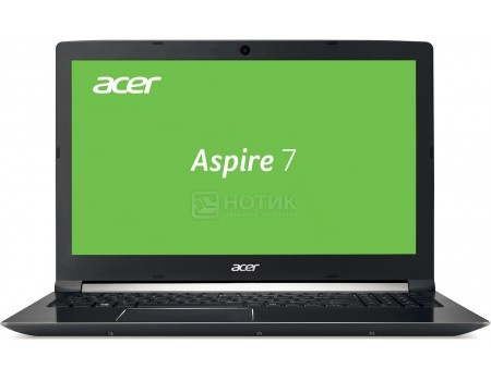 Купить ноутбук Acer Aspire 7 A717-71G-50SY (17.3 IPS (LED)/ Core i5 7300HQ 2500MHz/ 8192Mb/ HDD 1000Gb/ NVIDIA GeForce® GTX 1050Ti 4096Mb) MS Windows 10 Home (64-bit) [NX.GPGER.006] (54089) в Москве, в Спб и в России