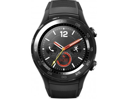 Смарт-часы Huawei Watch 2 Sport Bluetooth, LEO-BX9, 420 мАч Черный 55021794