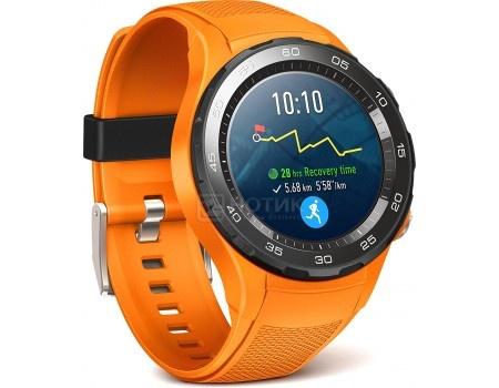 Смарт-часы Huawei Watch 2 Sport LTE, LEO-DLXX, 420 мАч Оранжевый 55021932, арт: 54111 - Huawei