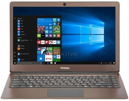 Фотография товара ноутбук Prestigio SmartBook 133S (13.3 IPS (LED)/ Celeron Dual Core N3350 1100MHz/ 3072Mb/ SSD / Intel HD Graphics 500 64Mb) MS Windows 10 Professional (64-bit) [PSB133S01ZFP_DB_CIS] (54116)