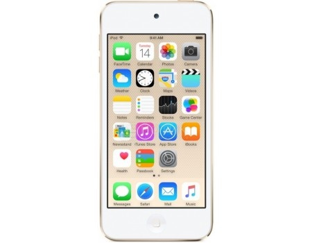 Портативный цифровой плеер Apple iPod touch 6 32Gb, MKHT2RU/A, Gold, Золотистый, арт: 54152 - Apple