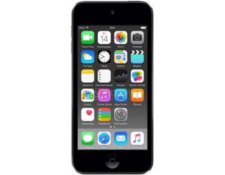 Портативный цифровой плеер Apple iPod touch 6 32Gb, MKJ02RU/A, Space Gray, Серый космос