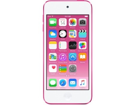 Портативный цифровой плеер Apple iPod touch 6 128Gb, MKWK2RU/A, Pink, Розовый, арт: 54163 - Apple