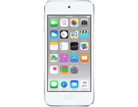 Фотография товара портативный цифровой плеер Apple iPod touch 6 128Gb, MKWR2RU/A, Silver, Серебристый (54165)