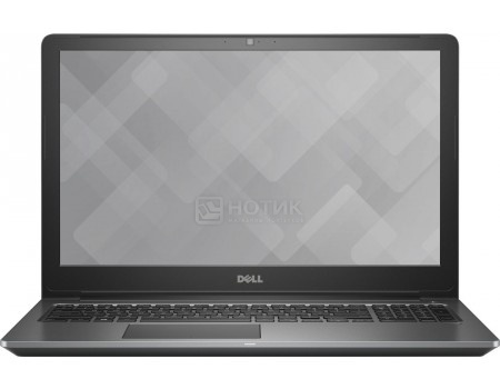 Ноутбук Dell Vostro 5568 (15.6 LED/ Core i5 7200U 2500MHz/ 8192Mb/ HDD 1000Gb/ NVIDIA GeForce GT 940MX 2048Mb) Linux OS [5568-0320]