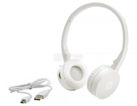 Фотография товара гарнитура беспроводная HP Wireless Stereo Headset H7000 White, Bluetooth, Белый G1Y51AA (54214)