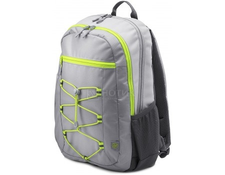 "Рюкзак 15.6"" HP Active Grey Backpack, 1LU23AA , Полиэстер, Серый"
