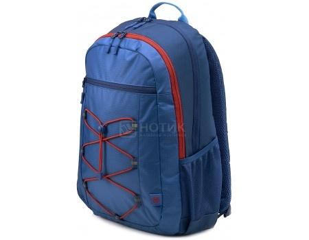 "Рюкзак 15,6"" HP Active Blue/Red Backpack, 1MR61AA , Полиэстер, Синий/Красный фото"