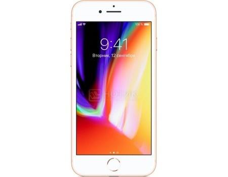 "Apple iPhone 8 64Gb Gold Смартфон Apple iPhone 8 64Gb Gold (iOS 11/A11 Bionic 2400MHz/4.7"" 1334x750/2048Mb/64Gb/4G LTE ) [MQ6J2RU/A] MQ6J2RU/A"