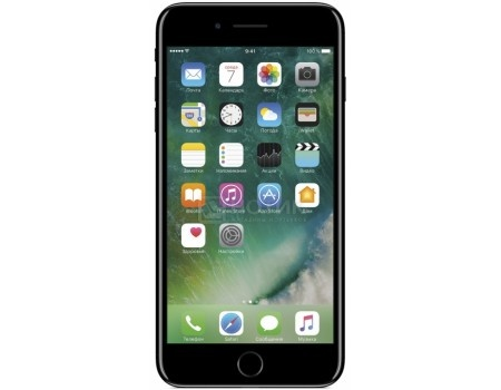 Смартфон Apple iPhone 7 Plus 32Gb Jet Black (iOS 10/A10 Fusion 2340MHz/5.5* 1920x1080/3072Mb/32Gb/4G LTE ) [MQU72RU/A], арт: 54264 - Apple