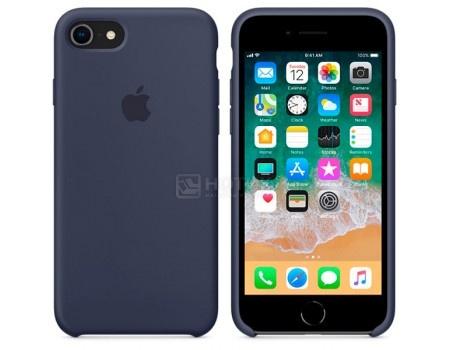 Чехол-накладка Apple Silicone Case Midnight Blue для iPhone 8 / 7 MQGM2ZM/A, Силикон, Темно-синий, арт: 54268 - Apple