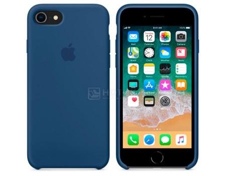 Чехол-накладка Apple Silicone Case Blue Cobalt для iPhone 8 / 7 MQGN2ZM/A, Силикон, Синий, арт: 54269 - Apple