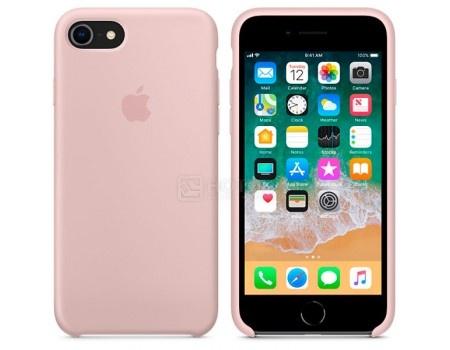Чехол-накладка Apple Silicone Case Pink Sand для iPhone 8 / 7 MQGQ2ZM/A Силикон, Бледно-розовый, арт: 54271 - Apple