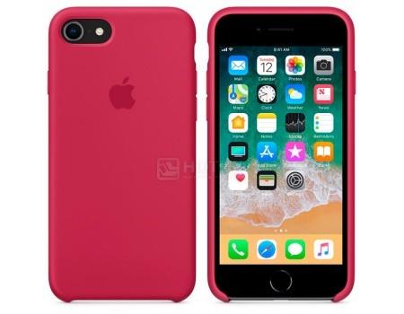 Чехол-накладка Apple Silicone Case Rose Red для iPhone 8 / 7 MQGT2ZM/A Силикон, Розовый, арт: 54273 - Apple