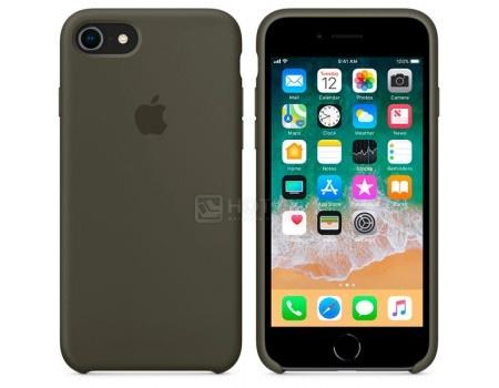 Чехол-накладка Apple Silicone Case Dark Olive для iPhone 8 / 7 MR3N2ZM/A Силикон, Серый, арт: 54274 - Apple