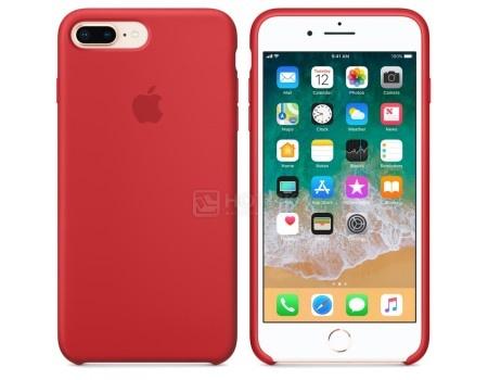 Чехол-накладка Apple Silicone Case Red для iPhone 8 Plus / 7 Plus MQH12ZM/A, Силикон, Красный, арт: 54279 - Apple