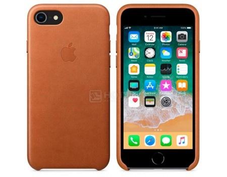 Чехол-накладка Apple Leather Case Saddle Brown для iPhone 8 / 7 MQH72ZM/A, Кожа, Коричневый, арт: 54291 - Apple