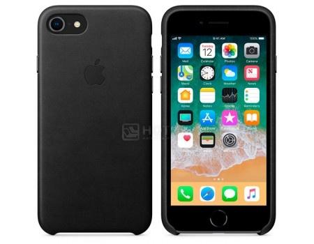 Чехол-накладка Apple Leather Case Black для iPhone 8 / 7 MQH92ZM/A, Кожа, Черный, арт: 54293 - Apple