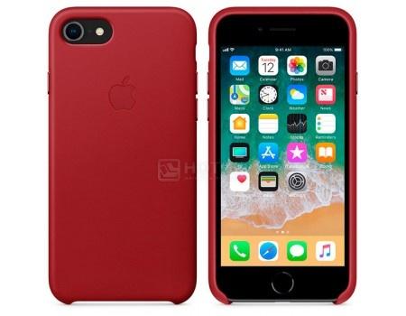 Чехол-накладка Apple Leather Case Red для iPhone 8 / 7 MQHA2ZM/A, Кожа, Красный, арт: 54294 - Apple