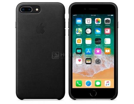 Чехол-накладка Apple Leather Case Black для iPhone 8 Plus / 7 Plus MQHM2ZM/A, Кожа, Черный, арт: 54302 - Apple
