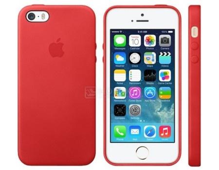 Чехол-накладка Apple Leather Case Red для iPhone 8 Plus / 7 Plus MQHN2ZM/A, Кожа, Красный, арт: 54303 - Apple