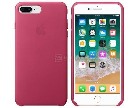Чехол-накладка Apple Leather Case Pink Fuchsia для iPhone 8 Plus / 7 Plus MQHT2ZM/A, Кожа, Розовый, арт: 54307 - Apple