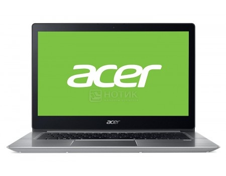 Фотография товара ноутбук Acer Swift SF314-52G-88KZ (14.0 IPS (LED)/ Core i7 8550U 1800MHz/ 8192Mb/ SSD / NVIDIA GeForce® MX150 2048Mb) MS Windows 10 Home (64-bit) [NX.GQUER.004] (54327)