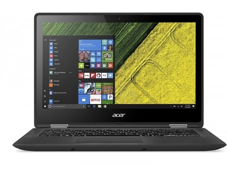 Фотография товара ноутбук Acer Spin SP513-52N-85DP (13.3 IPS (LED)/ Core i7 8550U 1800MHz/ 8192Mb/ SSD / Intel UHD Graphics 620 64Mb) MS Windows 10 Home (64-bit) [NX.GR7ER.002] (54371)