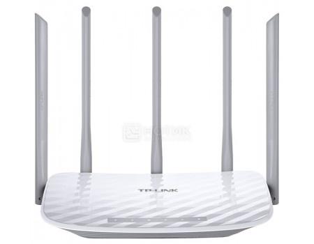 Маршрутизатор TP-Link Archer C60, 1xWAN, 4xLAN, 10/100/1000 Мбит/с, 802.11a/n/ac до 867 Мбит/с, 802.11b/g/n до 450 Мбит/с, Белый, арт: 54404 - TP-Link