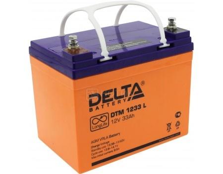 Фотография товара аккумулятор для ИБП Delta DTM 1233 L, 12V / 33Ah (33 000mAh) (54453)