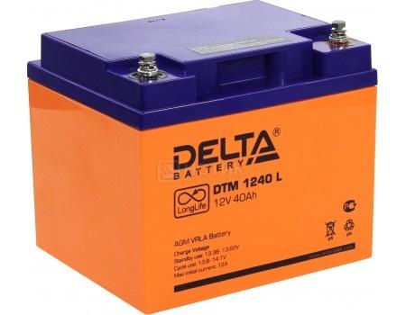 Фотография товара аккумулятор для ИБП Delta DTM 1240 L, 12V / 40Ah (40 000mAh) (54454)