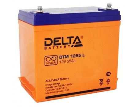 Фотография товара аккумулятор для ИБП Delta DTM 1255 L, 12V / 55Ah (55 000mAh) (54455)