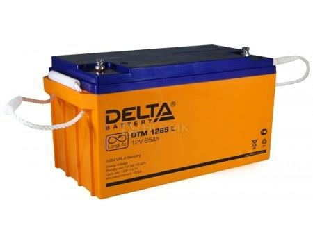 Аккумулятор для ИБП Delta DTM 1265 L, 12V / 65Ah (65 000mAh), арт: 54456 - Delta